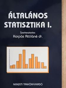 Dr. Havasy György - Általános statisztika I. [antikvár]