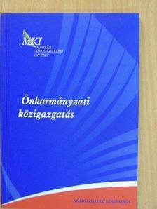 Barabás Zoltán - Önkormányzati közigazgatás [antikvár]