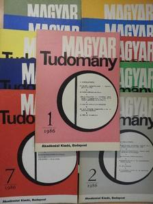 Ács Tibor - Magyar Tudomány 1986. január-december [antikvár]