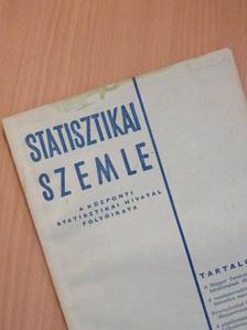 Csentes Lajos - Statisztikai Szemle 1959. március [antikvár]