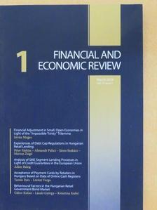 Ádám Balog - Financial and Economic Review March 2018 [antikvár]