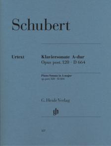 Franz Schubert - KLAVIERSONATE A-DUR OP.POST. 120 D 664 URTEXT (MIES/THEOPOLD)