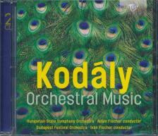 Kodály Zoltán - ORCHESTRAL MUSIC 2CD FISCHER ÁDÁM & IVÁN