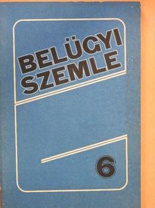 Csondorné dr. Schüller Gabriella - Belügyi Szemle 1989. június [antikvár]