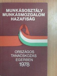 Barabás János - Országos Tanácskozás Egerben 1978 [antikvár]