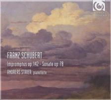 SCHUBERT - IMPROMPTUS D.935, SONATE D.894 CD ANDREAS STAIER