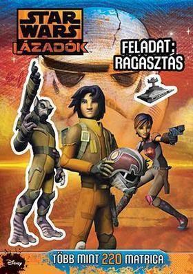 Star Wars - Lázadók matricás foglalkoztató 1