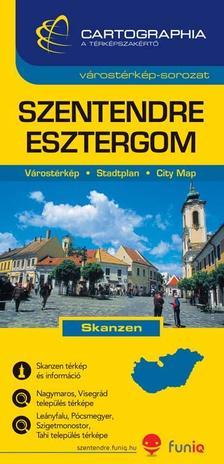 """Cartographia Kiadó - SZENTENDRE VÁROSTÉRKÉP 1:13000 - CART. - """"SC"""" -"""