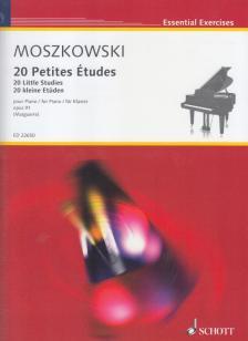 MOSZKOWSKI - 20 PETITES ÉTUDES POUR PIANO OP.91 (MARGUERRE)