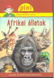 Afrikai állatok - Pixi ismeretterjesztő füzetei
