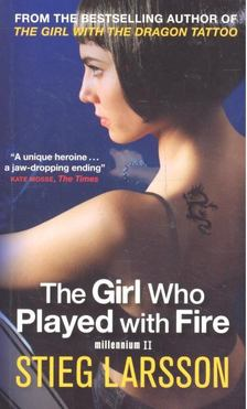 Stieg Larsson - The Girl Who Played with Fire [antikvár]