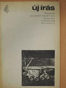 Abody Béla - Új Írás 1971. április [antikvár]