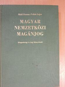 Mádl Ferenc - Magyar nemzetközi magánjog [antikvár]