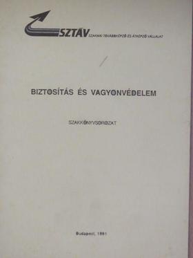 Dr. Bárczay András - Biztosítás és vagyonvédelem [antikvár]