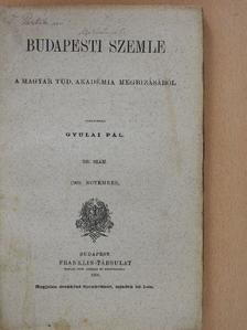 Bajza József - Budapesti Szemle 1909. november [antikvár]