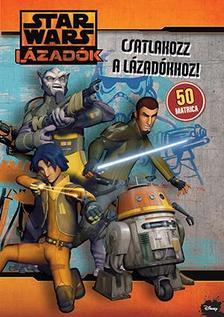 .- - Star Wars - Lázadók matricás foglalkoztató 2
