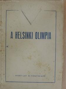 Barcs Sándor - A helsinki olimpia [antikvár]