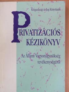 Both János - Privatizációs kézikönyv [antikvár]