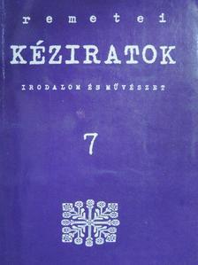 Frédérique Bourg-Zahnd - Remetei kéziratok 1992/2. [antikvár]