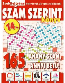 CSOSCH KIADÓ - ZsebRejtvény SZÁM SZERINT Könyv 14.
