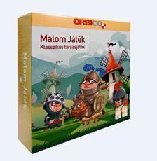 Malom mini társasjáték