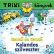BRÜCKNER JUDIT - TRIXI KÖNYVEK - REZSŐ ÉS DEZSŐ / KALANDOS SZILVESZTER