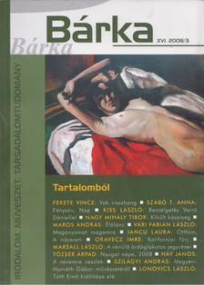 Elek Tibor - Bárka 2008/3. [antikvár]