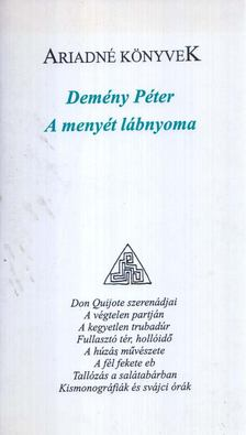Demény Péter - A menyét lábnyoma [antikvár]
