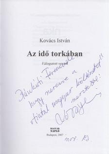Kovács István - Az idő torkában (dedikált) [antikvár]