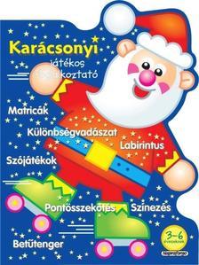 Napraforgó Könyvkiadó - Karácsonyi játékos foglalkoztató - Kék