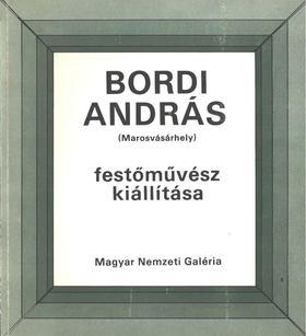 HAJDÚ ZOLTÁN - Bordi András festőművész kiállítása [antikvár]