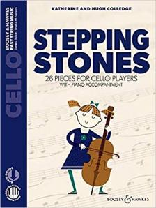 COLLEDGE - STEPPING STONES. 26 PIECES FOR CELLO PLAYERS WITH AUDIO CD