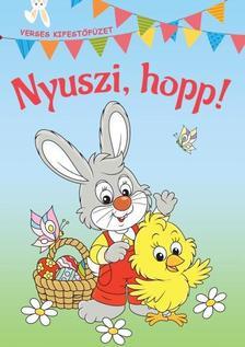 Nyuszi, hopp! - Verses kifestőfüzet