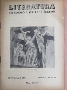 Dr. Tábori Pál - Literatura 1931. julius [antikvár]