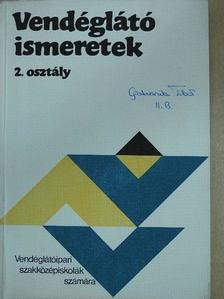 Markovits Györgyi - Vendéglátó ismeretek 2. [antikvár]