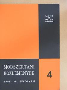 Besir Anna - Módszertani közlemények 1998/4. [antikvár]