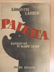 Barcsay Jenő - Paletta [antikvár]