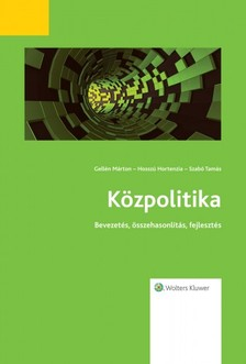 Tamás dr. Gellén Márton-dr. Hosszú Hortenzia-Szabó - Közpolitika [eKönyv: epub, mobi]