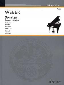 WEBER - SONATEN FÜR KLAVIER WeV Q.2-5 (BANDUR)