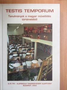 Adamikné Jászó Anna - Testis temporum [antikvár]