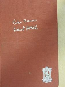 Vicki Baum - Grand Hotel [antikvár]