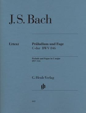 J. S. Bach - PRAELUDIUM UND FUGE C-DUR BWV 846 FÜR KLAVIER URTEXT (HEINEMANN/THEOPOLD)
