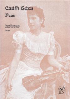 Csáth Géza - PEAN HEGEDŰ-ZONGORA