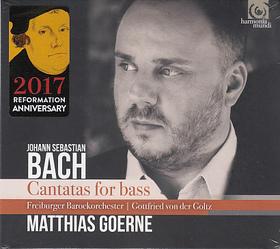 Bach - CANTATAS FOR BASS CD MATHIAS GOERNE