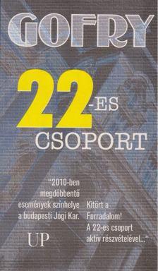 Varga Zoltán - Gofry 22-es csoport [antikvár]