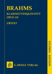 BRAHMS... - KLARINETTENQUINTETT OP.115, STUDIEN EDITION
