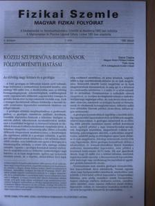 Detre Csaba - Fizikai Szemle 1999. február [antikvár]