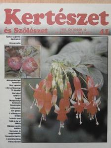 Dr. Schmidt Gábor - Kertészet és Szőlészet 1995. október 12. [antikvár]
