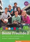 BESTE FREUNDE 2. A2 KURSBUCH+CDS UNGARISCHE AUSGABE