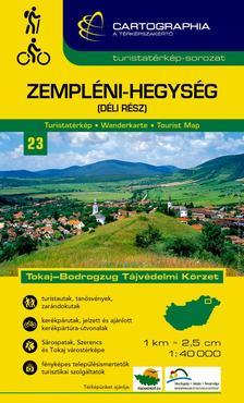 """Cartographia - Zempléni-hegység (déli rész) turistatérkép 1:40000 cart. """"sc"""